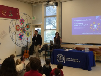 At Lycee Elementary School in Sausalito, CA, January 21, 2016