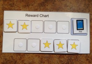 Standard ABA reward chart
