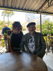 Henny Kupferstein with Dr. Stanley Krippner