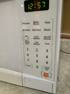 bump dots on my microwave keypad
